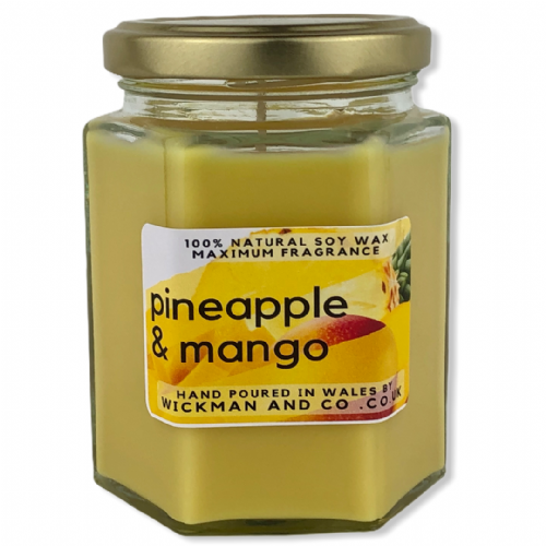 Pineapple & Mango Soy Wax Candle